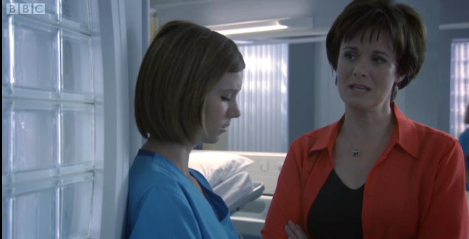 We Love Australian Tv Star Natasha Leigh As Dr Birdwood In Holby City