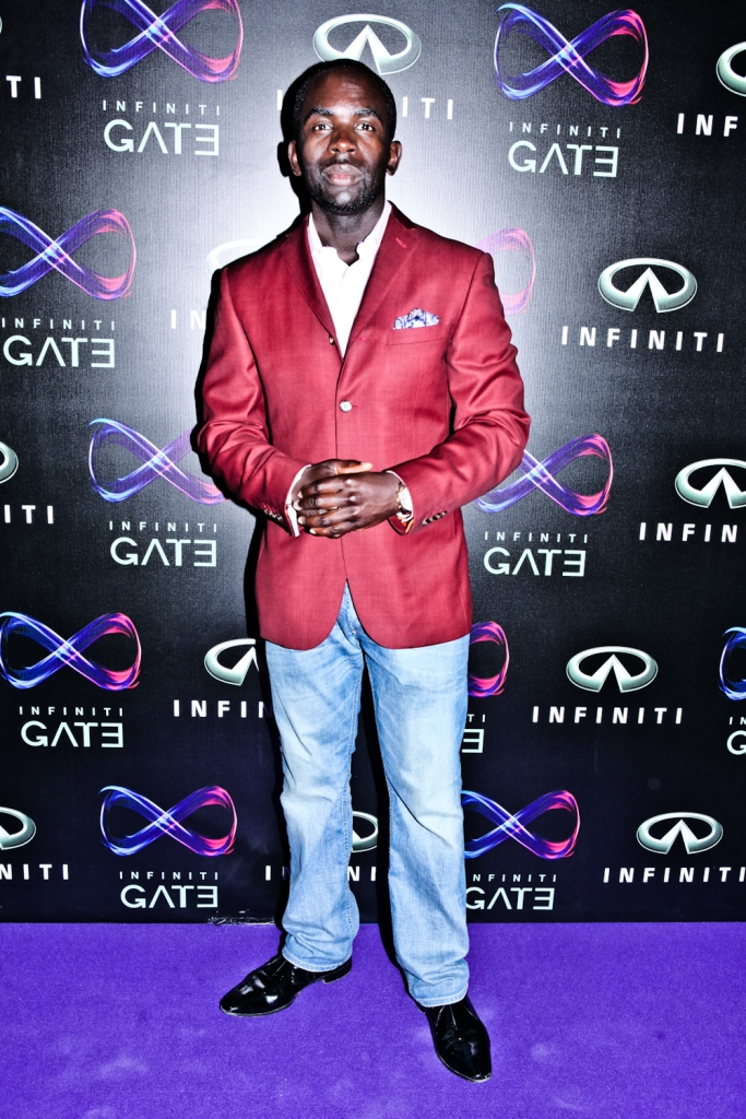 Jimmy Akingbola HOLBY CITY Infiniti 11 July 2013 097